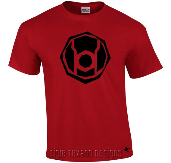 Playera Super Héroes Linterna Roja By Tigre Texano Designs