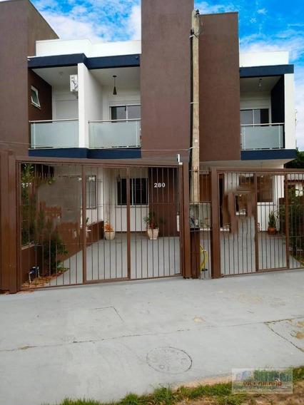 Villarinho Vende Casa Com 2 Dormitórios Sendo 2 Suítes - 80 M² Por R$ 275.000 - Hípica - Porto Alegre/rs - Ca0452