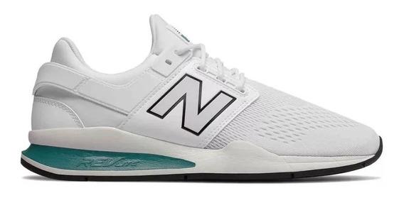 Tenis New Balance 247 Blanco Unisex