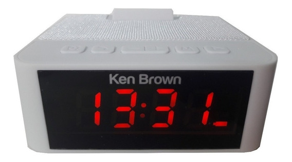 Radio Reloj Despertador Ken Brown Dx-595 Usb Fm Aux