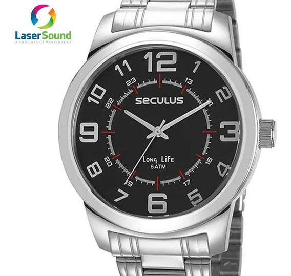 Relógio Seculus Masculino 23641g0svna2 C/ Garantia E Nf