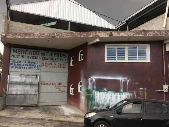 Nave O Bodega Industrial, 2 Niveles, Techada Con Servicios