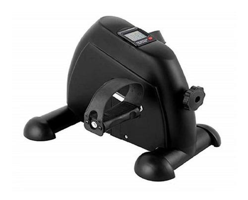 Mini Bicicleta Preta Com Monitor Wct Fitness