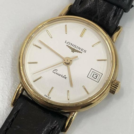 Relógio Longines Classic (antigo, Todo Em Ouro 18k - Solido)