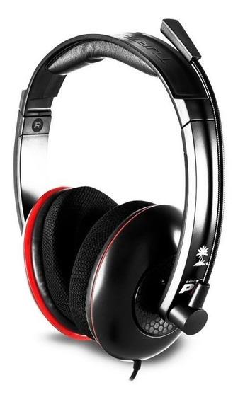 Headset Com Fio Turtle Beach Ear Force Dp11 Ps3 Ps4 Pc E Mac