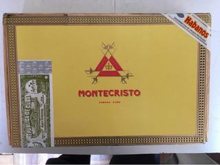 Habanos Montecristo No.4 Envase 25 Tabacos