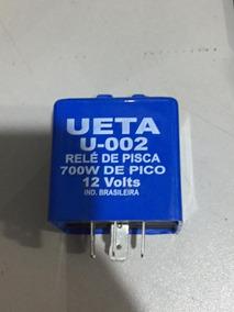 Relé De Pisca Universal 12v (700w De Pico) Com Luz Piloto