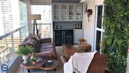 Apartamento Com 3 Dorms, Boqueirão, Santos - R$ 1.9 Mi, Cod: 16366 - V16366