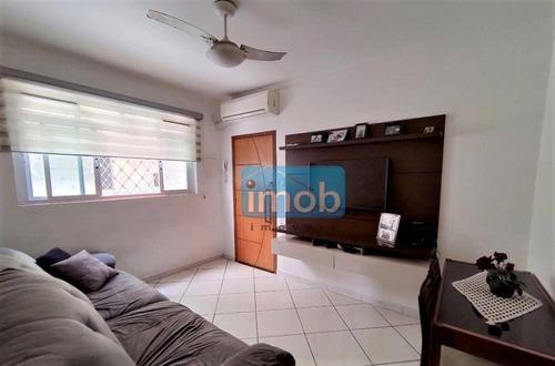 Imagem 1 de 14 de Apartamento Com 2 Dormitórios À Venda, 63 M² Por R$ 300.000,00 - Campo Grande - Santos/sp - Ap8054