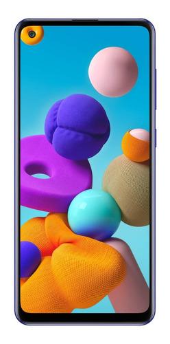 Celular Samsung Galaxy A21s-128 Gb Azul