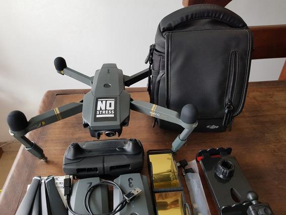 Drone Mavic Pro Combo Com Diversos Acessórios
