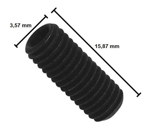 Imagem 1 de 8 de Parafuso Allen Sem Cabeça 9/64 X 5/8 - 20 Unidades