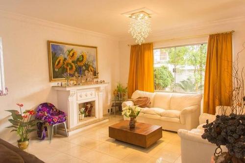 Casa Com 4 Dormitórios Para Alugar, 500 M² Por R$ 16.500/mês - Vila Homero Thon - Santo André/sp - Ca0763