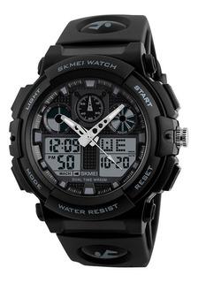Skmei Reloj 1270 Alarma Cronometro Impermeable Deportivo
