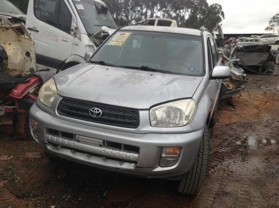 Sucata Peças Acessórios Toyota Rav4 2002 148cv