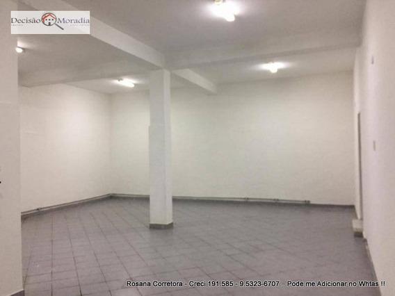 Salão Para Alugar, 100 M² Por R$ 2.500/mês - Butantã - São Paulo/sp - Sl0031