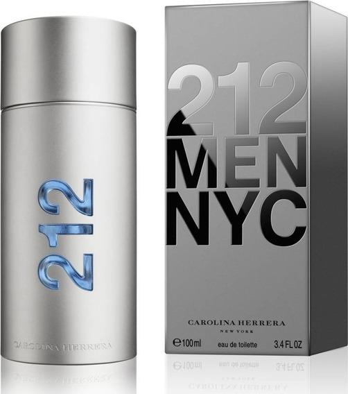 Perfume 212 Men Carolina Herrera - Decant Amostra 5ml
