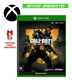 Call Of Duty Black Ops 4 Bo4 Xbox One Midia Digital + Brinde