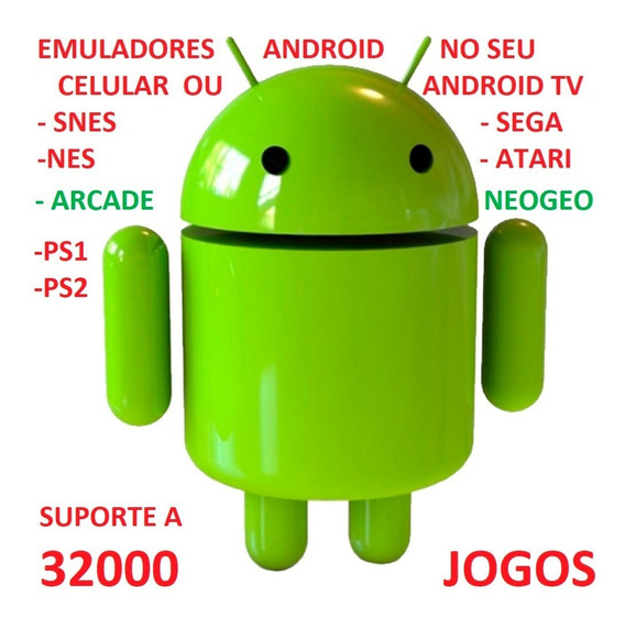 Emuladores Ps1 Ps2 Snes Atari Nes P Android Tv Via Email
