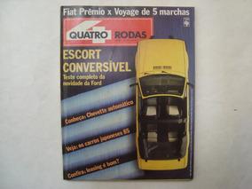 Revista Quatro Rodas - N.297 / Abril De 1985