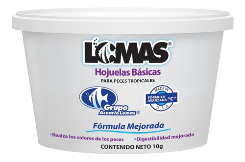 Imagen 1 de 5 de Lote 80 Hojuela Pez Alimento Basico Lomas 10, 20 Y 100gr
