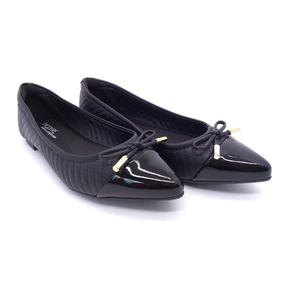 5b2bc3870 Sapato Preto Feminino Ultraconforto Piccadilly - Sapatos com o ...