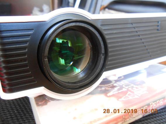 Mini Projetor Led - Mpr 7007 - Tomate - 800lumens - Novo