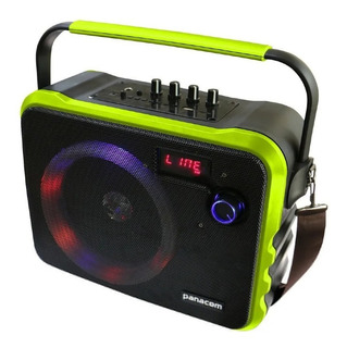 Parlante Portátil Panacom T70 2000 Watts Pmpo Bt Karaoke