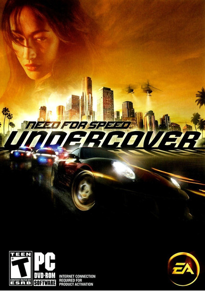Game Pc Need For Speed Undercover Dvdrom