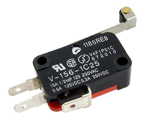 Micro Limit Switch Final Carrera Interruptor Palanca Rodaja V-156-1c25