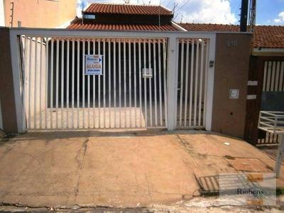 Casa Residencial Para Locação, Parque Jaguaré, São José Do Rio Preto. - Ca1100