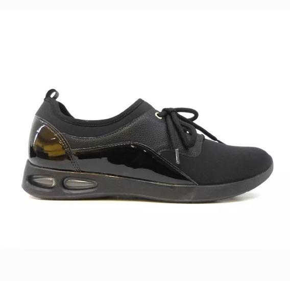 Zapatillas Mujer Negras Piccadilly Neoprene 979011