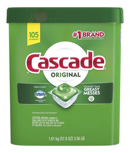Imagen 1 de 4 de Detergente Para Lavaplatos Cascade 1.61 Kg