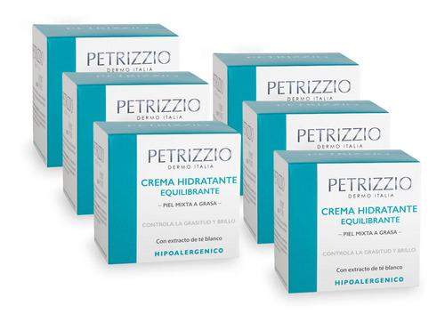 Crema Hidratante Equilibrante Petrizzio Pack 6
