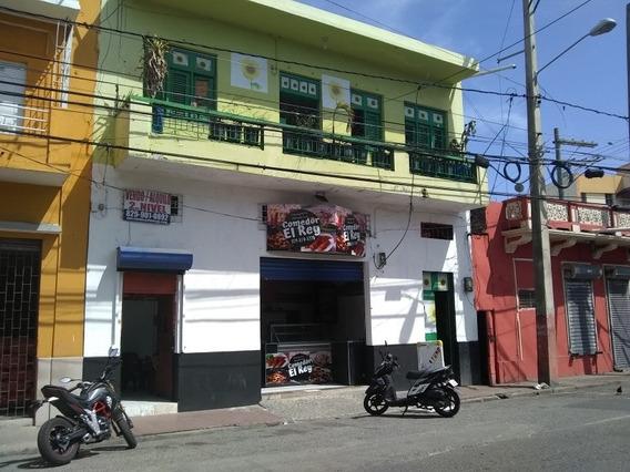 San Carlos.edificio Con Pensión Y Locales.