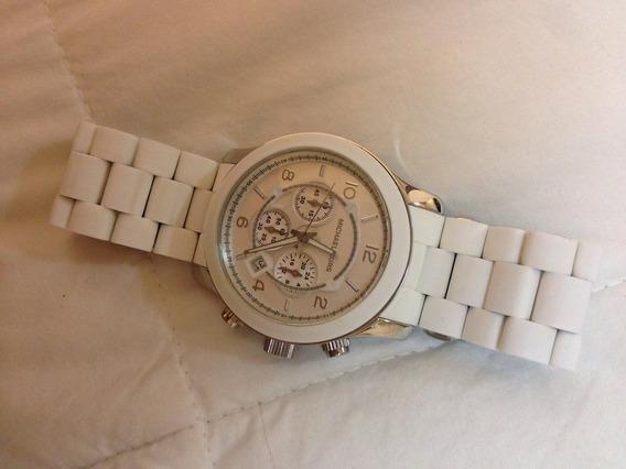 Relógio De Pulso Michael Kors Branco Mk8108