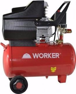 Compressor Worker - 24litros - 2cv