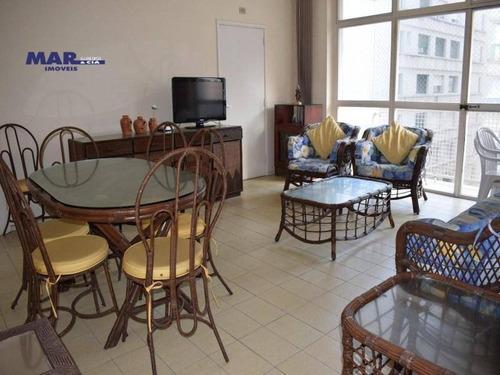 Imagem 1 de 10 de Apartamento Residencial À Venda, Barra Funda, Guarujá - . - Ap10438