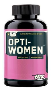 Opti-women 120 Cap Tab - Optimum - Formula Original Importad