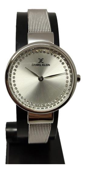 Relógio Feminino Analogico Daniel Klein Social Original Nf