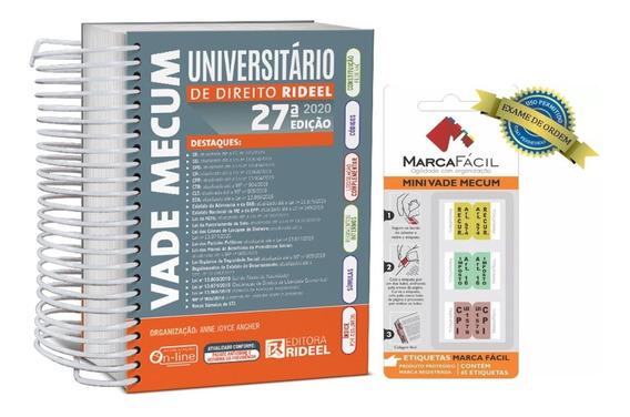 Vade Mecum Universitário De Direito + Etiqueta Marca Fácil