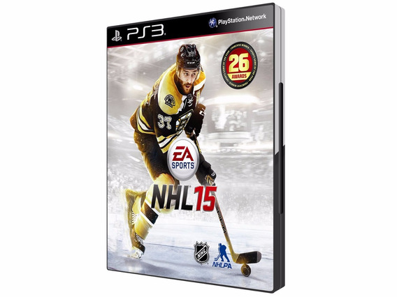 Nhl 15 Ea Sports Play 3 Ps3 Novo Original Lacrado