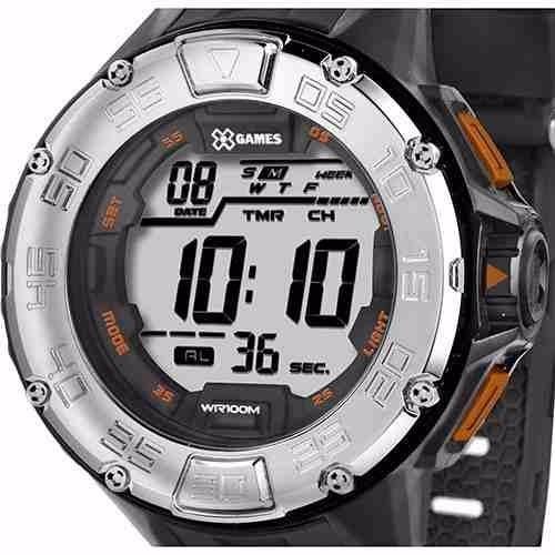 Relógio Masculino X Games Digital Preto/cinza Xmppd251 Bxpx