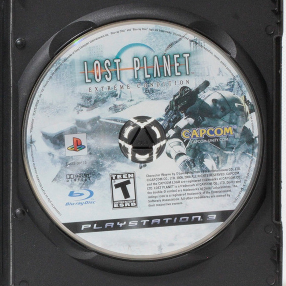 Lost Planet Extreme Condition / Playstation 3 - Original!