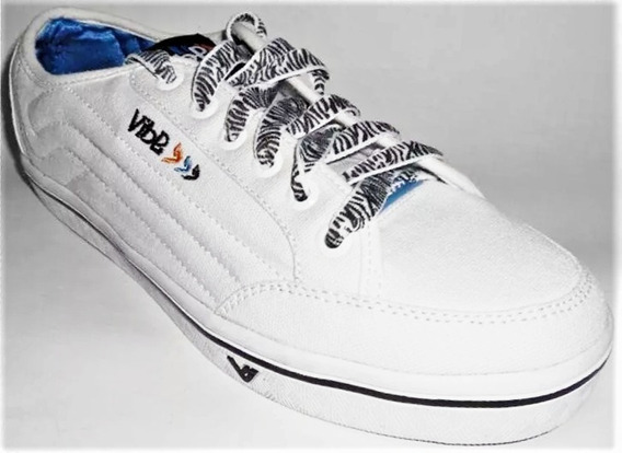 Tenis Vibe Misty Low Branco Skate Shoes