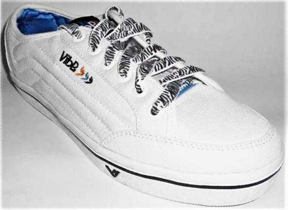 Tenis Vibe Misty Low Branco Skate Shoes