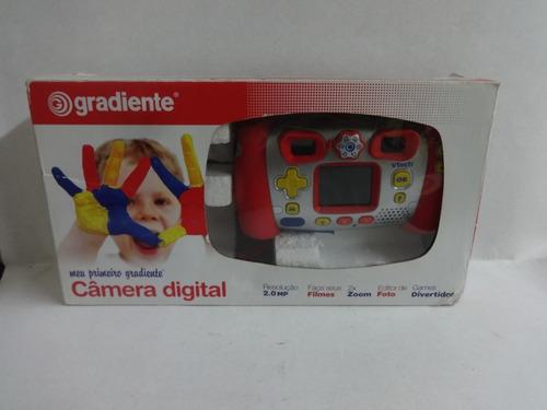 Câmera Digital Infantil Gradiente Lindo Presente
