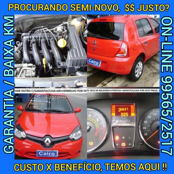 Renault Clio Expression Hi-power 5p Ar Condidionado Vermelho