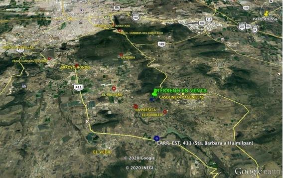 Terreno En Huimilpan, La Presita. A 45 Minutos De Centro Cívico, Querétaro.