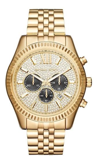 Reloj Michael Kors Hombre Clásico Mk8494 Original Importado